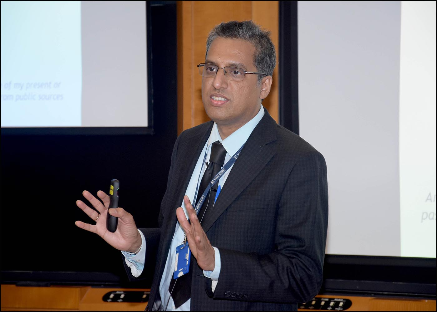 Shri. Bharan Guntupalli, Head of Operational Risk, HDFC Bank Ltd.