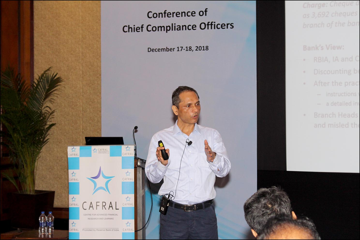 Anil Kumar Sharma, CGM, Enforcement Department, RBI