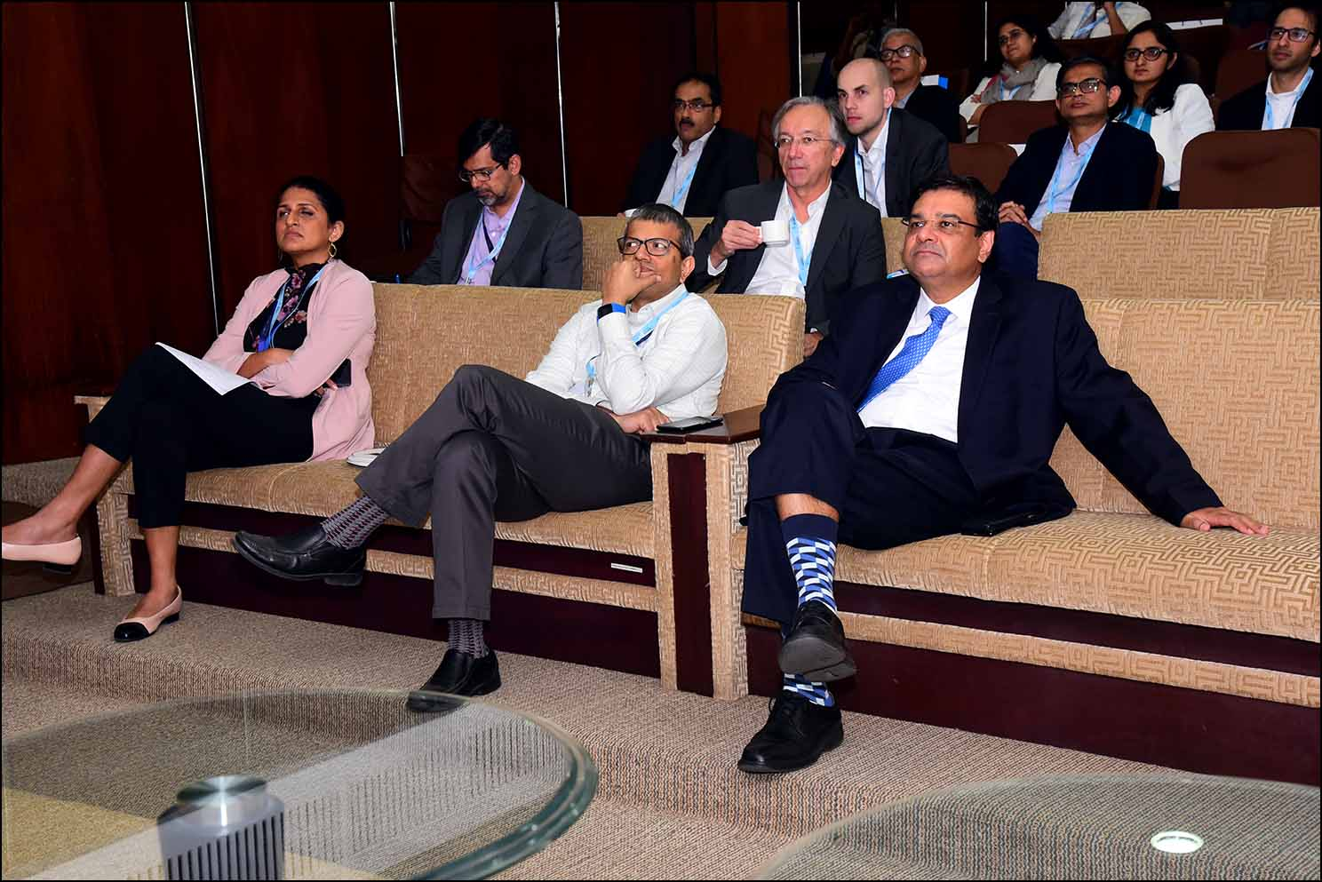 Dr Urjit Patel, Governor, Reserve Bank of India, attending conference