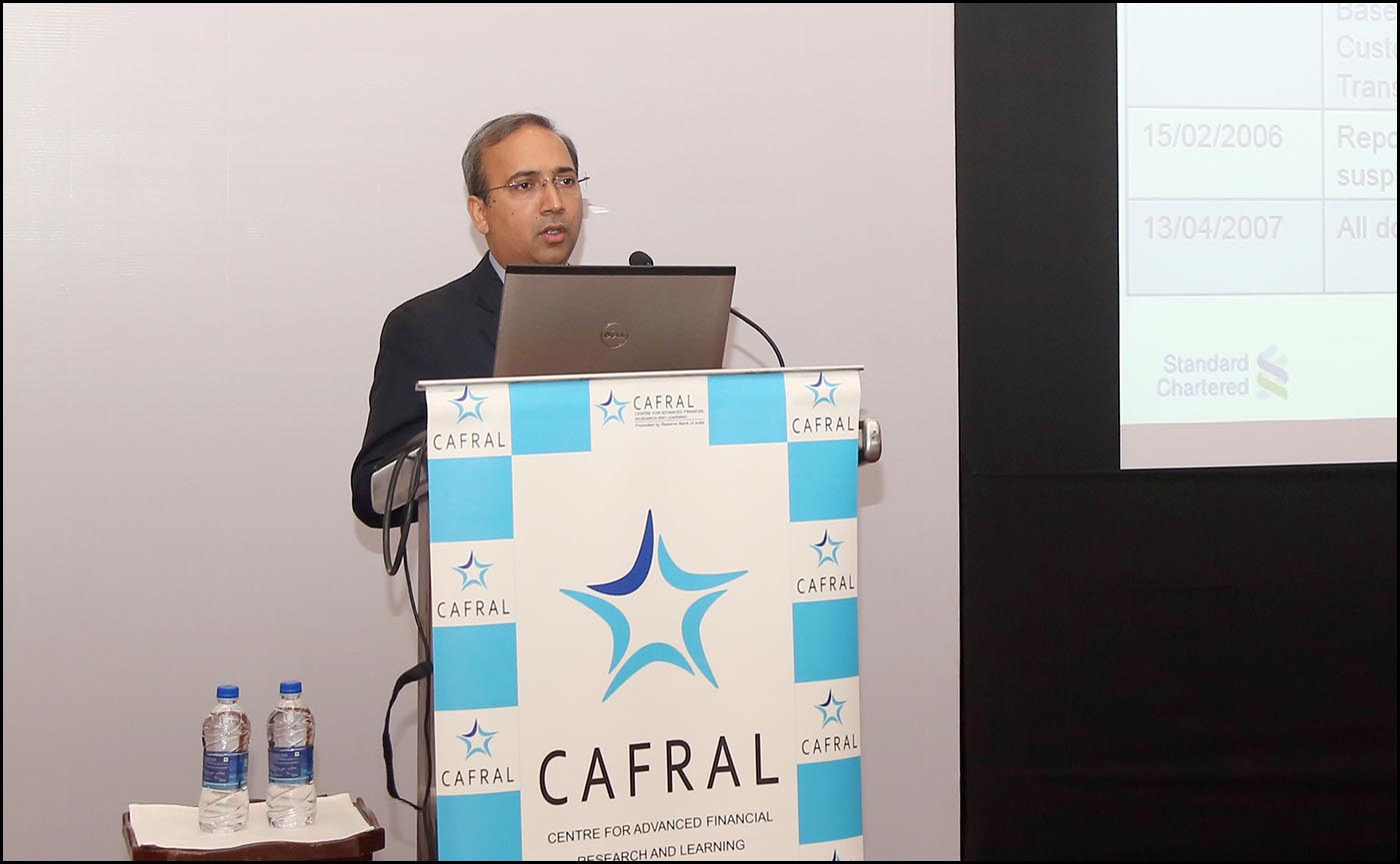 Jairam Manglani, Country Head, Financial Crimes, Standard Chartered Bank