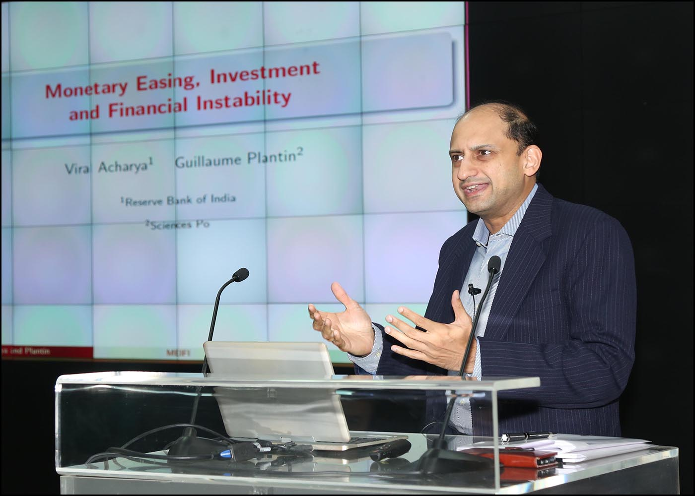 Dr. Viral V. Acharya, Deputy Governor, Reserve Bank of India