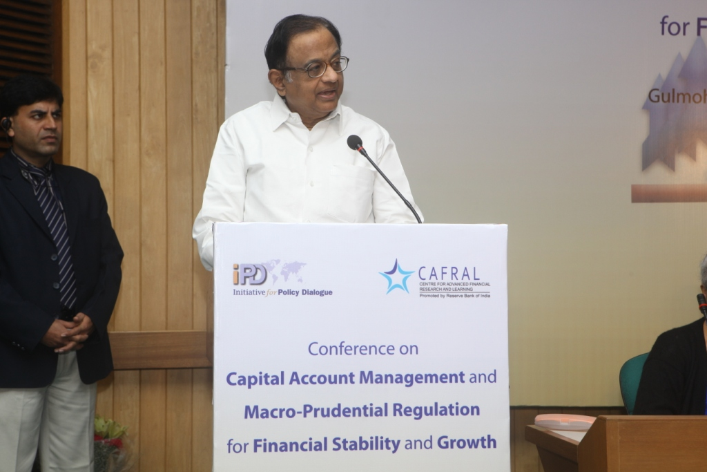"Photos from the CAFRAL-IPD Conference on ""Capital Account Management and Macro-Prudential Regulation for"