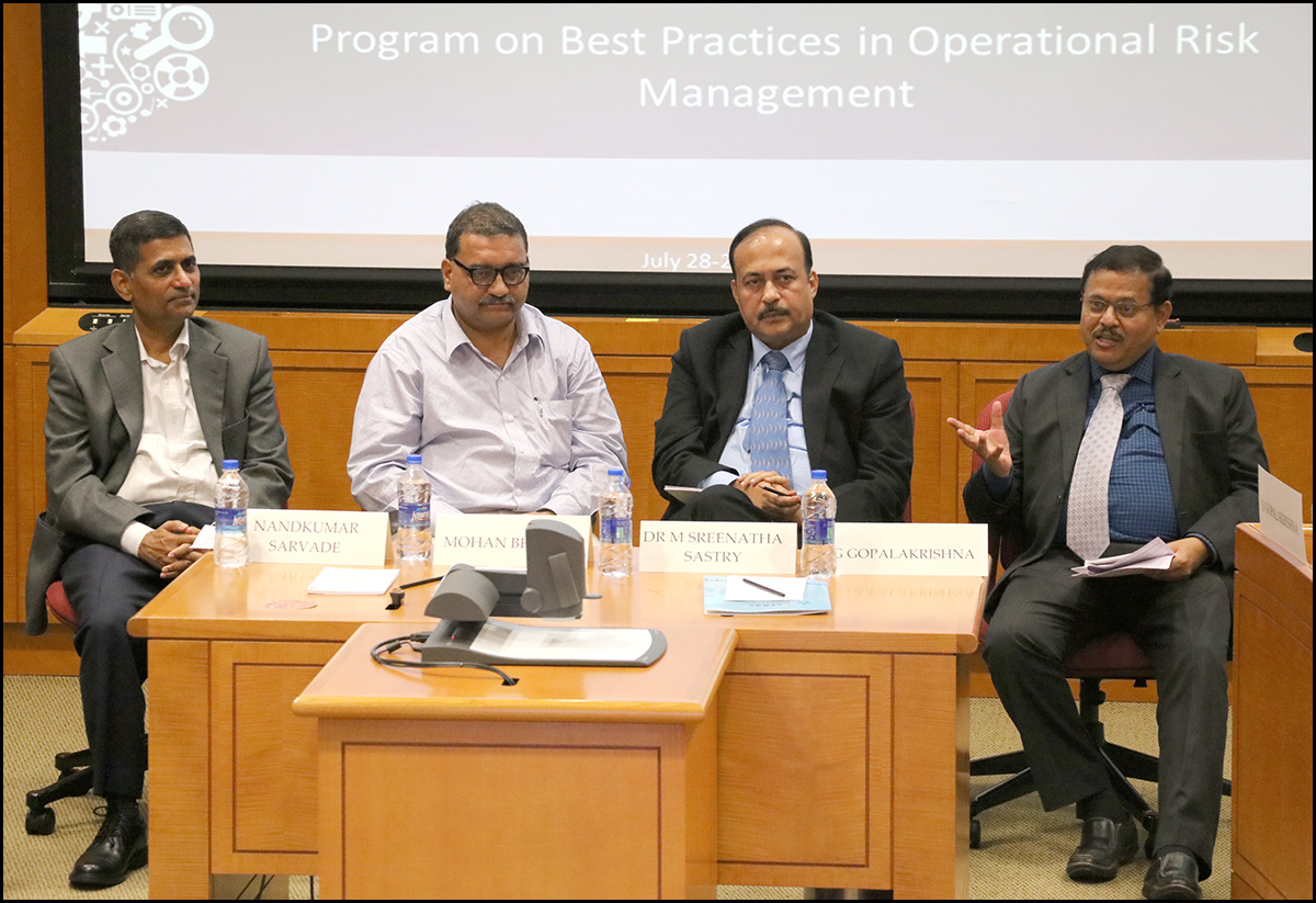 Photos from the Program on Best Practices in Operational Risk Management