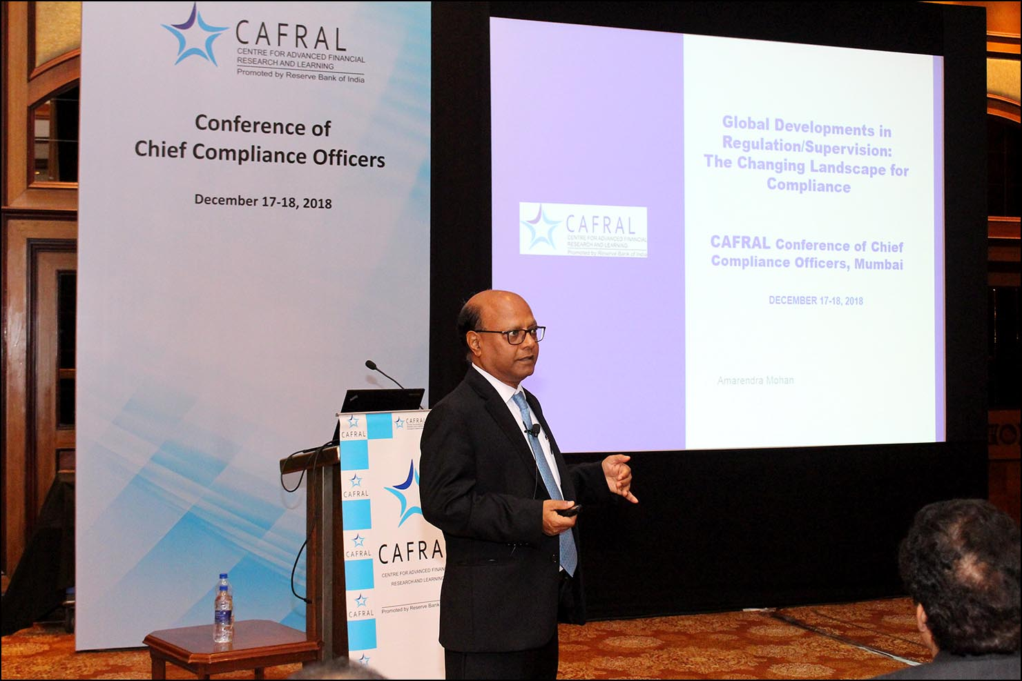 Amarendra Mohan, Sr. Program Director, CAFRAL