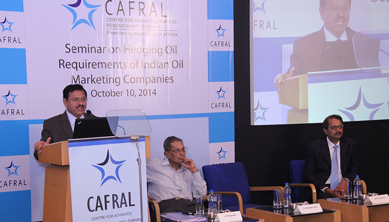 Photos from the Seminar on Hedging Oil Requirements of Indian Oil Marketing Companies