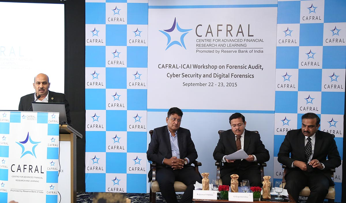 Photos from the CAFRAL-ICAI Workshop on Forensic Audit, Cyber Security and Digital Forensics