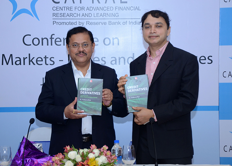 Book on Credit Derivatives by K Vaidyanathan released by G Gopalakrishna