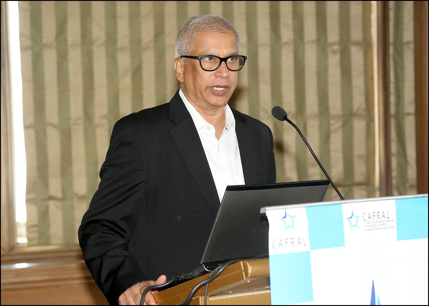 M P Baliga, Sr. Program Director, CAFRAL