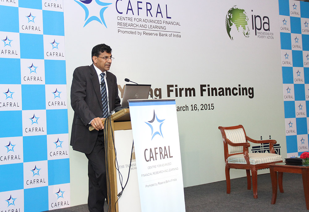 Photos from the CAFRAL-IPA SME Initiative Conference on Young Firm Financing
