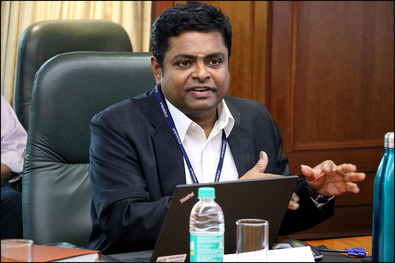 B Prasanna, Group Executive and Head – Global Markets Group, ICICI Bank