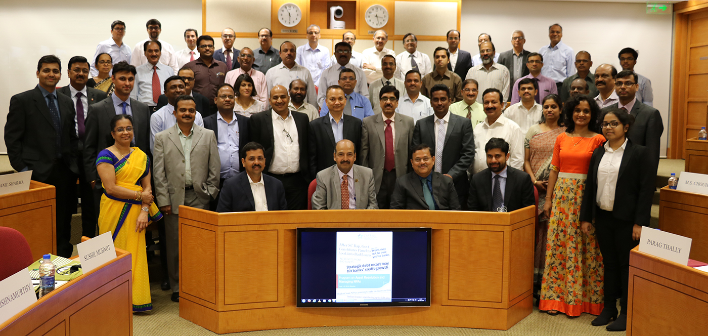 Photos from the Program on Asset Resolution and Managing NPAs