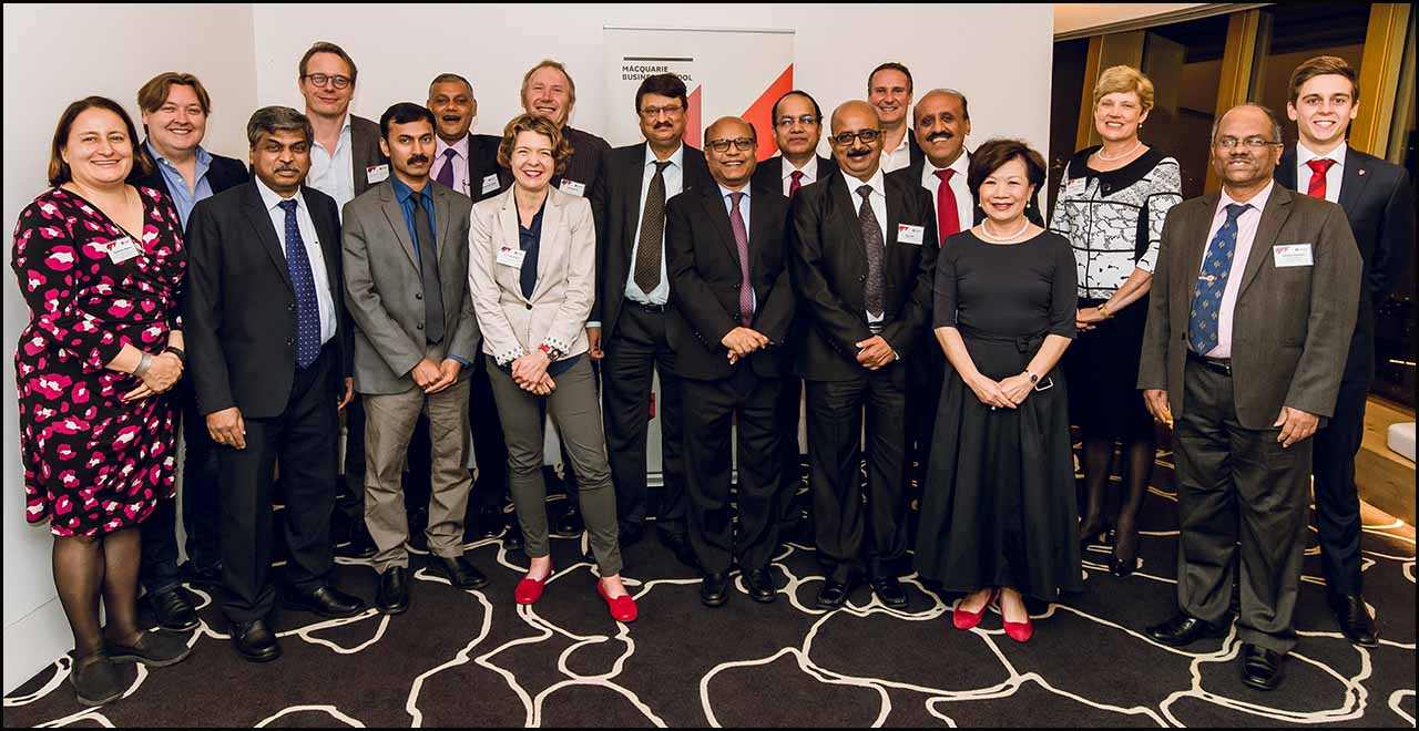 Photos from the Sydney  and Mumbai - CAFRAL and Macquarie University Program