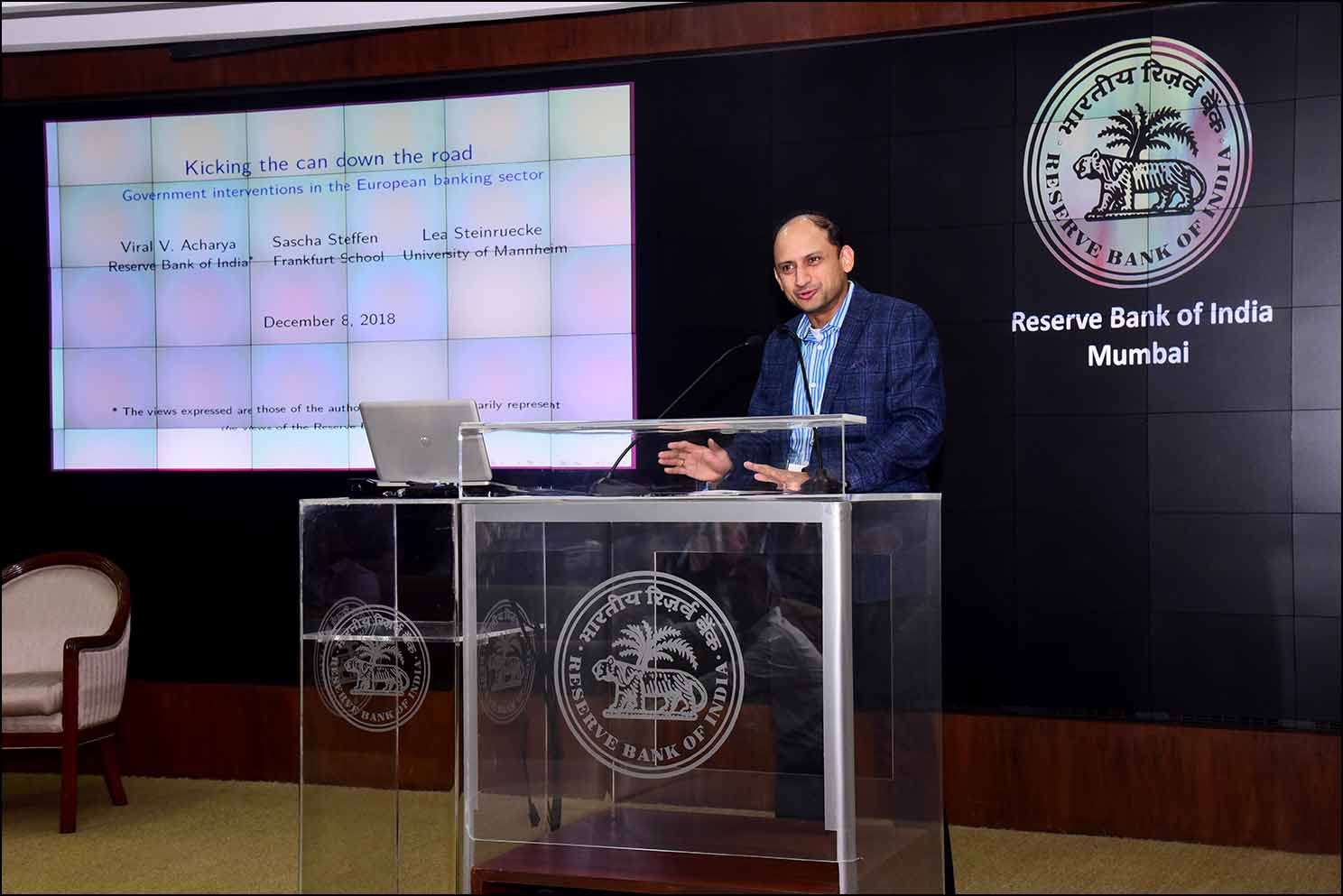 Dr. Viral Acharya, Deputy Governor, Reserve Bank of India