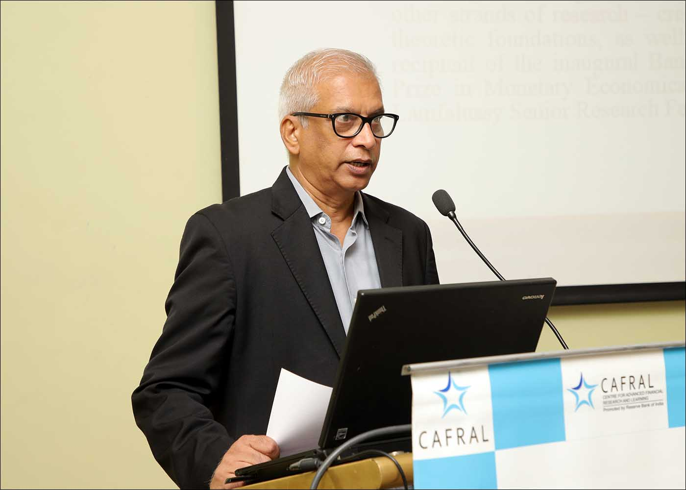 M P Baliga, Senior Program Director, CAFRAL