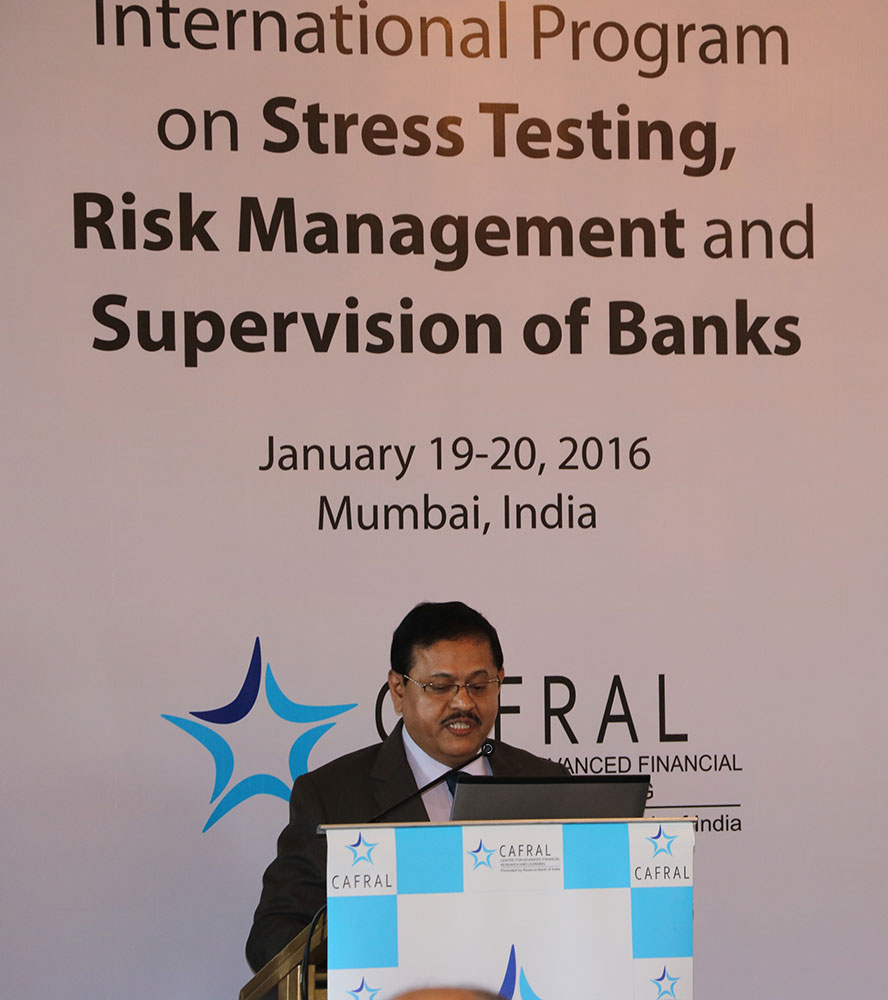 Stress Test Finance: CAFRAL International Program On Stress Testing, Risk