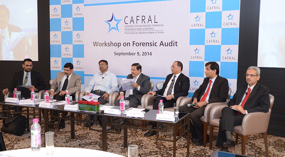 Photos from the Workshop on Forensic Audit