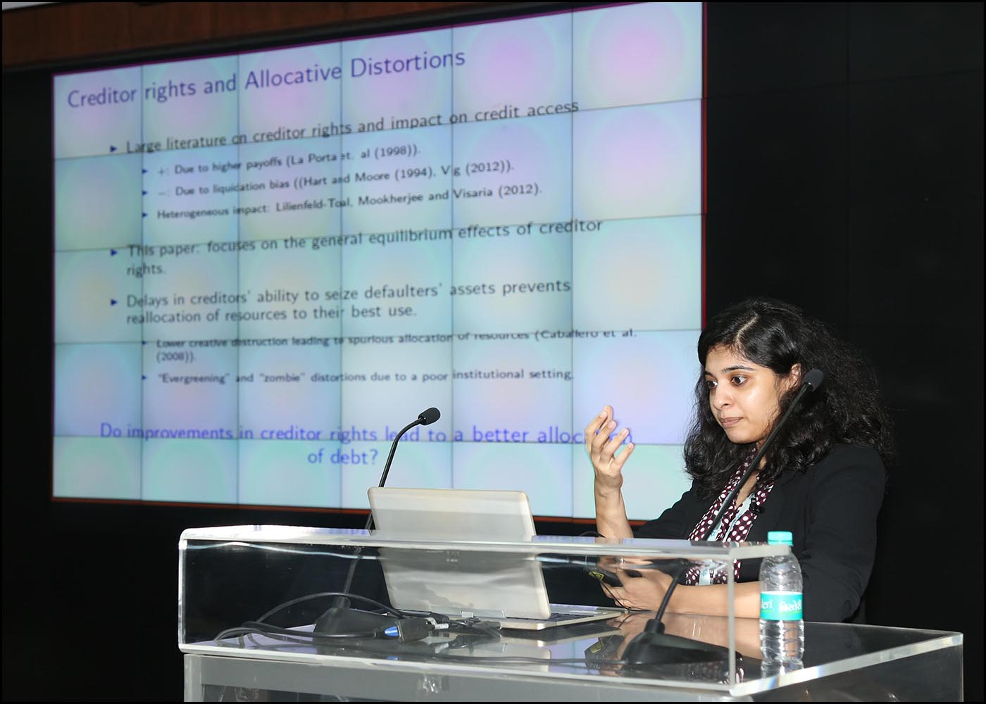 Dr. Nirupama Kulkarni, Research Director, CAFRAL
