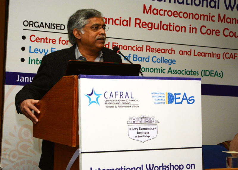 "Photos from the CAFRAL-Levy-IDEAs Workshop on ""Macroeconomic management and financial regulation in core"